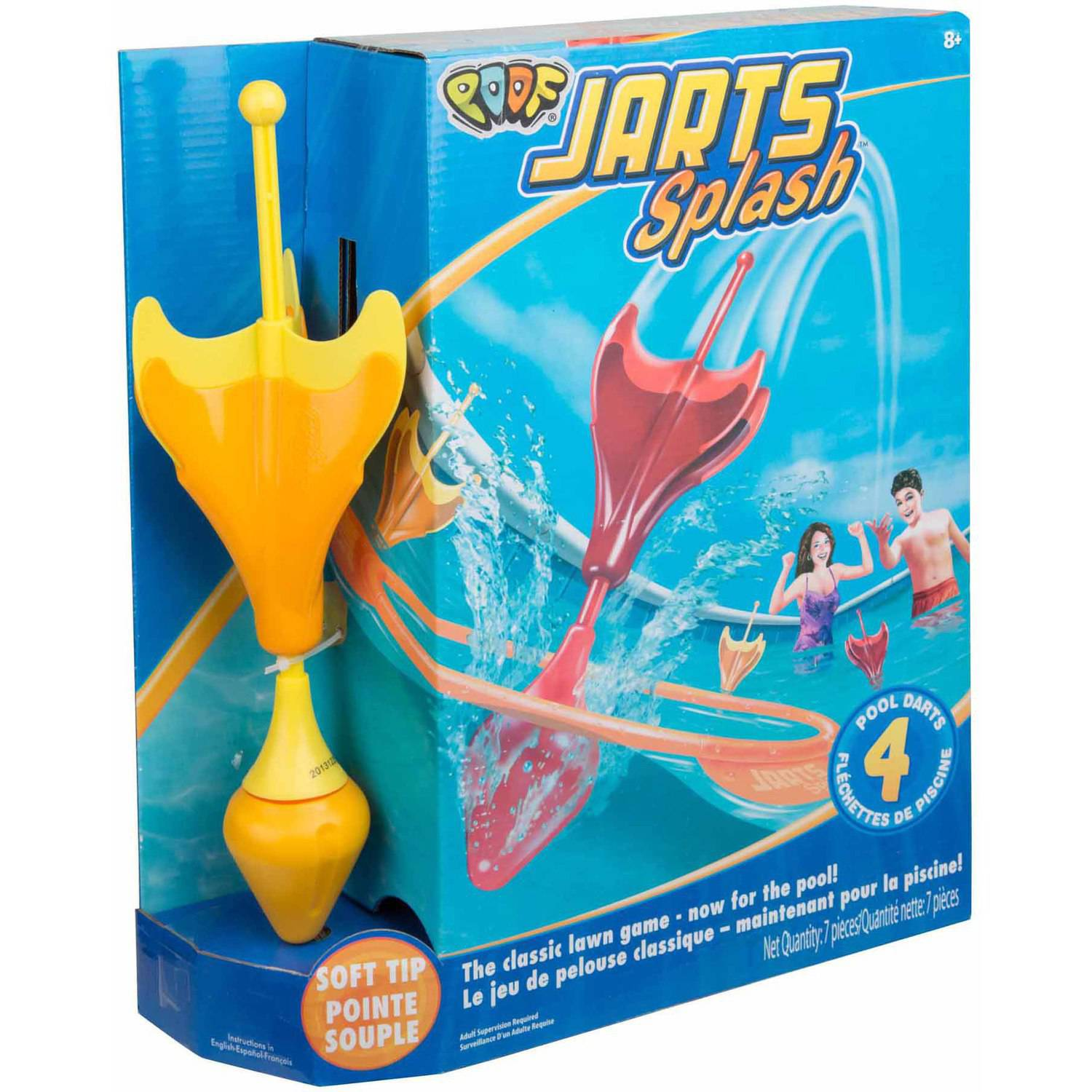 POOF Jarts Splash Target Dart Game for Pools