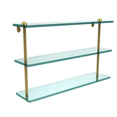 78 Triple Tier (22 Inch Triple Tiered Glass Shelf )