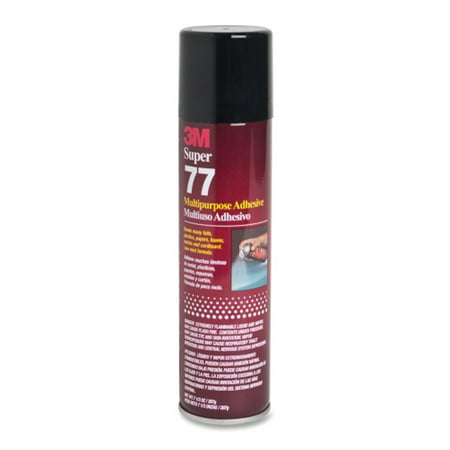 3M 7.3 oz SUPER 77 SPRAY Glue for Gun Case Safe Felt Lining thumbnail