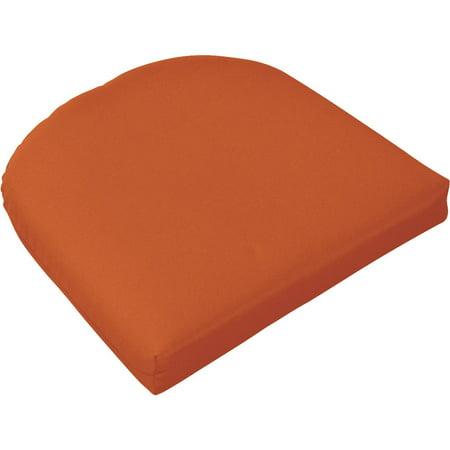 Casual Cushion Pottery Wicker Seat Pad 373-1475 (Pottery Barn Cushions)