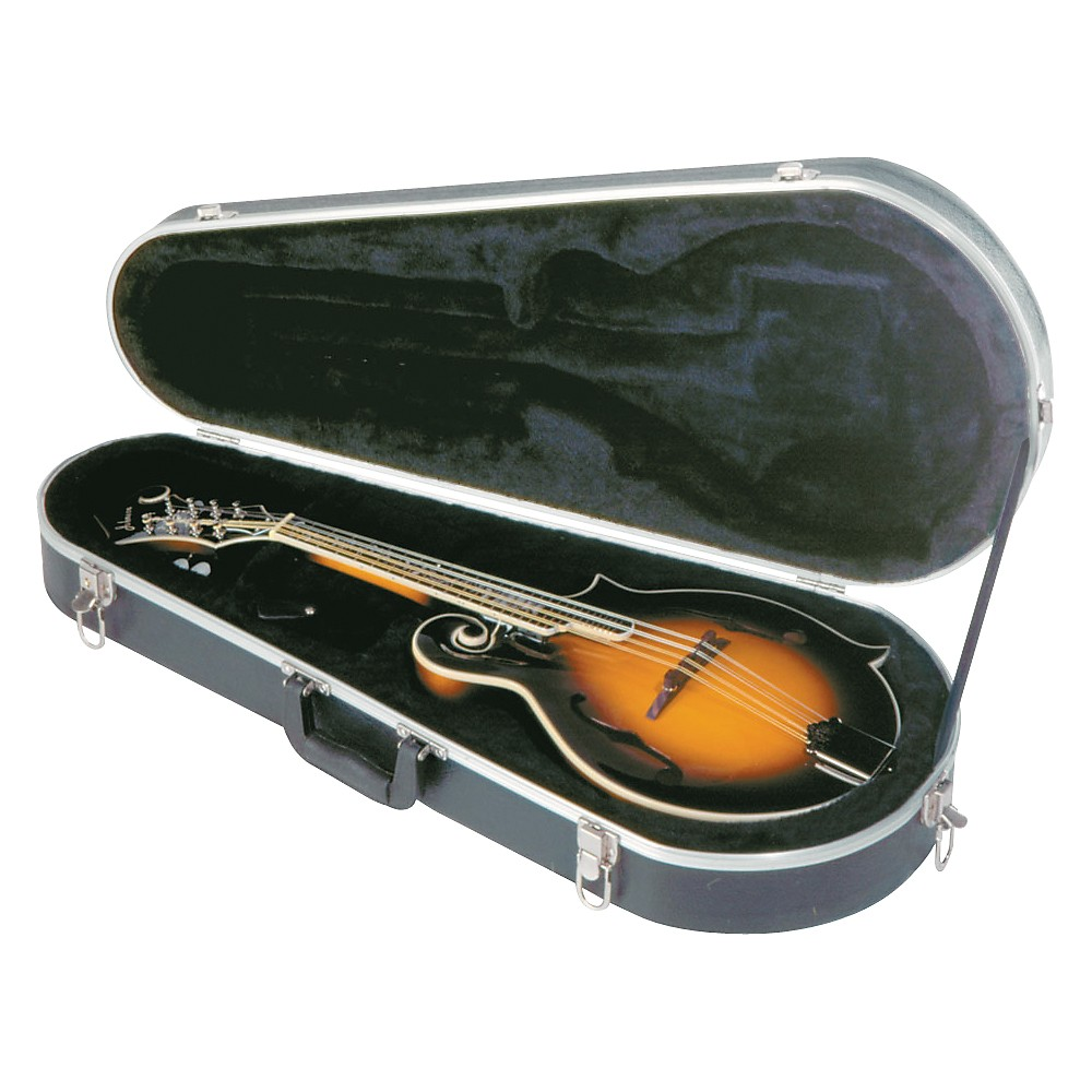 Musician's Gear Economy Mandolin Case for A and F Mandolins Black