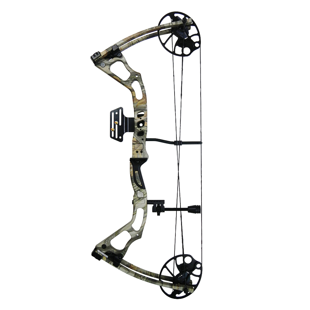 iGlow 15-70 lbs Black / Green / Camouflage Camo Archery Hunting Compound Bow 175 150 60 55 30 lb Crossbow
