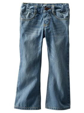 OshKosh B'Gosh Big Girls' Boot Cut E-Z Adjust Waist Jeans
