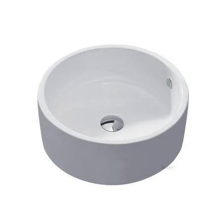 L-008 Bathroom Porcelain Ceramic Vessel Vanity Sink Art