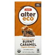 Alter Eco Organic Chocolate 70% Dark Salted Burnt Caramel, 2.82 Oz.