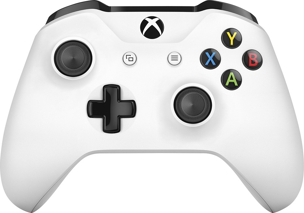 Microsoft Xbox One Wireless Controller, White by Microsoft