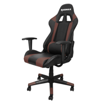 Drakon DK702 Gaming Chair Racing Style PVC Leather High-Back Ergonomic Swivel Chair with Headset and Lumbar Support