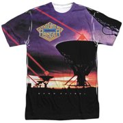 Night Ranger Dawn Patrol (Front Back Print) Mens Sublimation Shirt