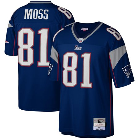 half off 8fb69 65cb6 Randy Moss New England Patriots Mitchell & Ness Legacy Replica Jersey - Navy