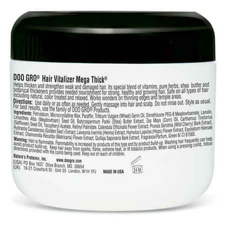 Doo Gro Hair Vitalizer Mega Thick Anti Thinning Formula 4 Oz