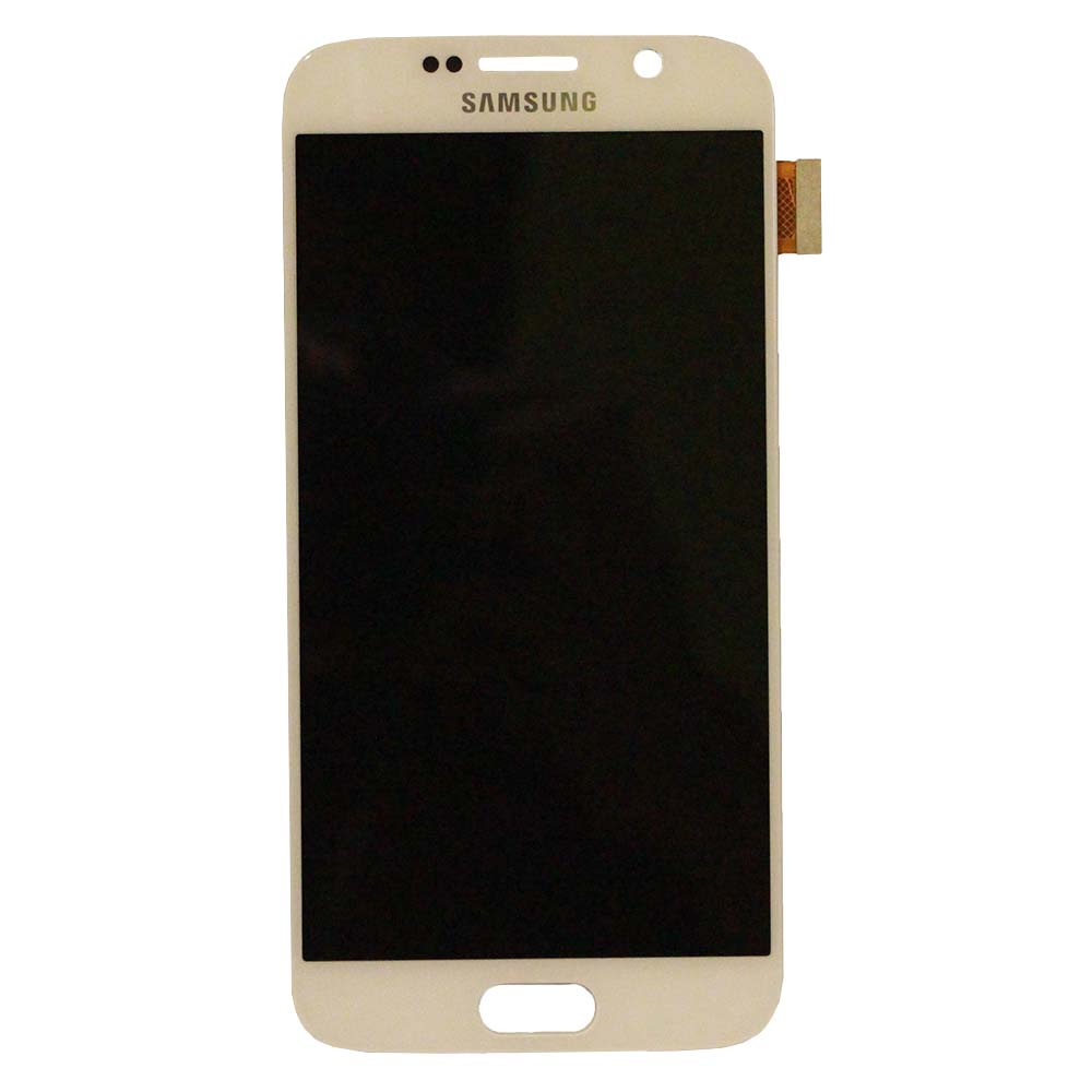 White Internal Replacement Touch Screen Digitizer + LCD f...
