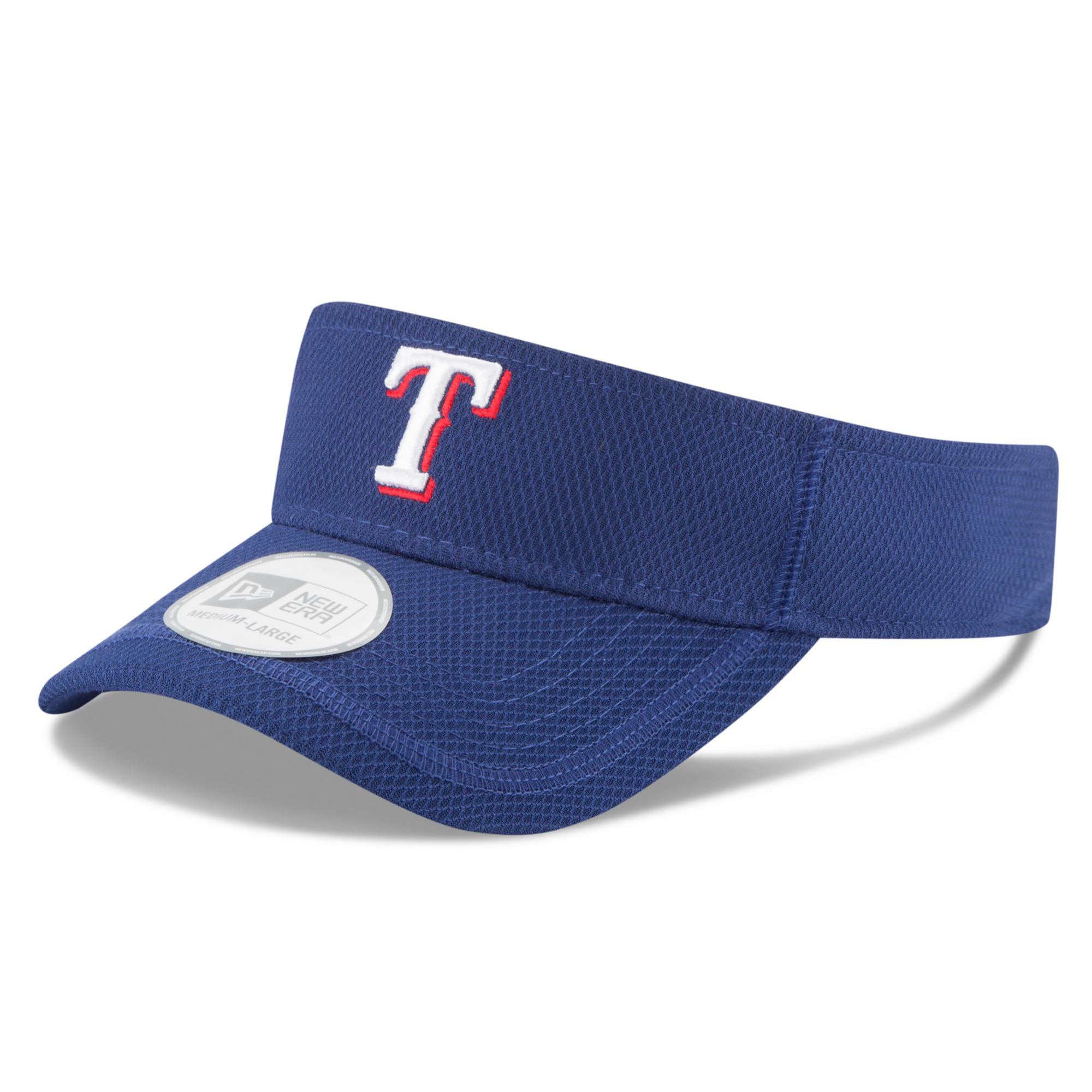 Texas Rangers New Era Clubhouse Visor - Royal