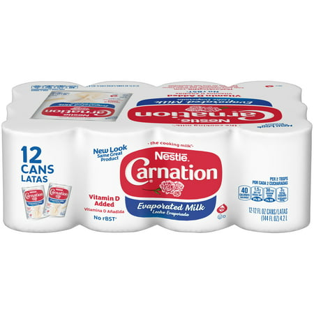 CARNATION Evaporated Milk 12-12 fl. oz. Cans