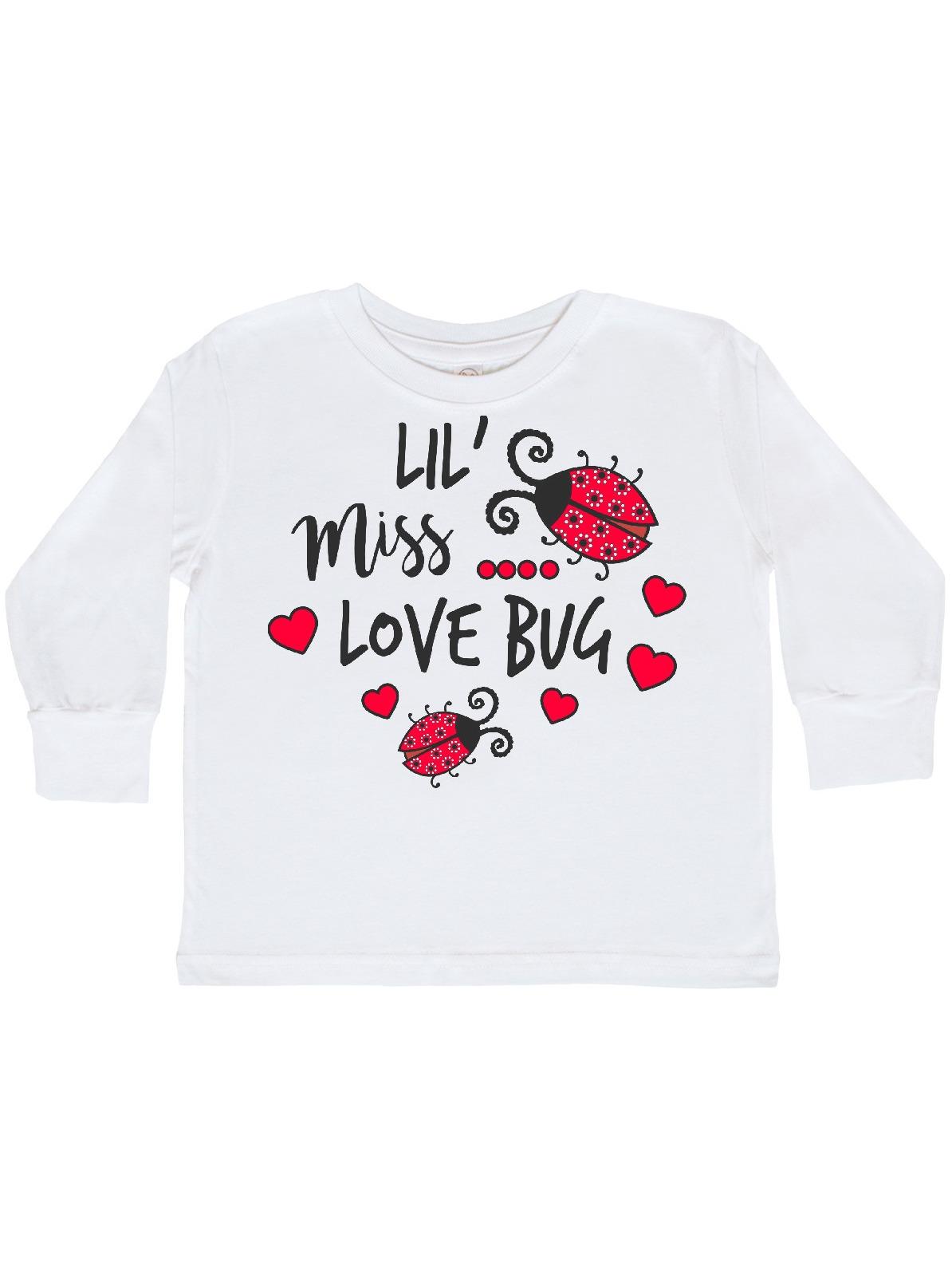 Little Miss Love Bug Shirt Toddler