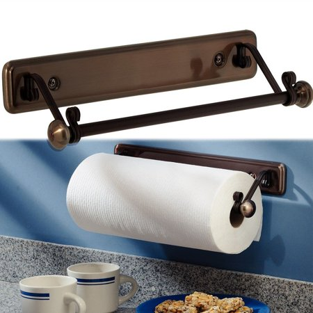 New York Series Kitchen Wall Mount Paper Towel Holder Bronze Finish