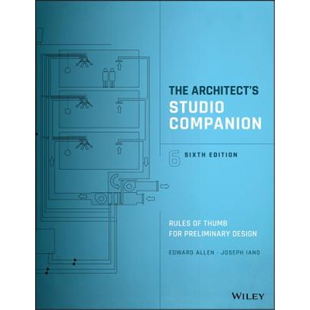 Architect Drawing (The Architect's Studio Companion : Rules of Thumb for Preliminary)