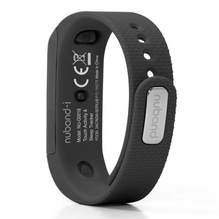 Nuband i Touch Activity Tracker Watch, Black