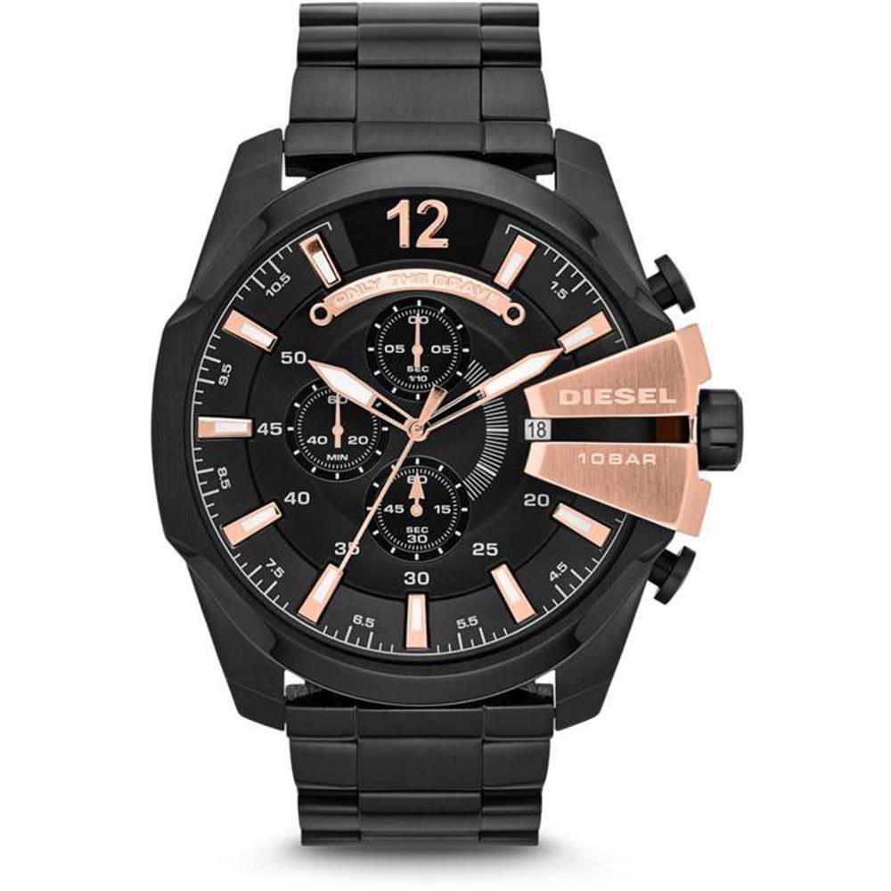 Men's Mega Chief Stainless Steel Bracelet Watch
