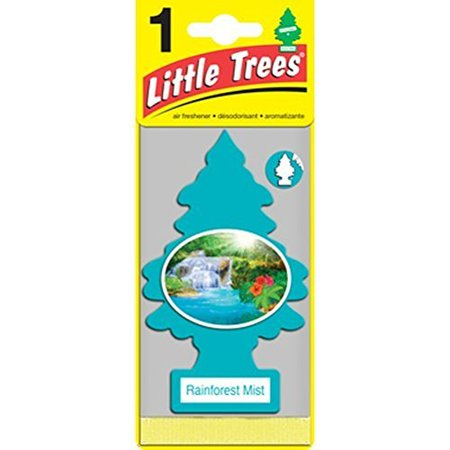 Little Trees Cardboard Hanging Car/Home/Office Air Freshener, Rainforest Mist -3](Cardboard Tree)