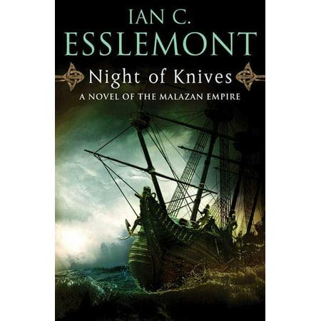 Night of Knives : A Novel of the Malazan Empire (Empire Of The Sun Swordfish Hotkiss Night)