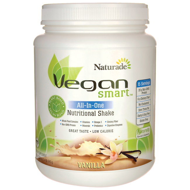 Prevention Naturade Vegan Smart Nutritional Shake, 22.75 oz