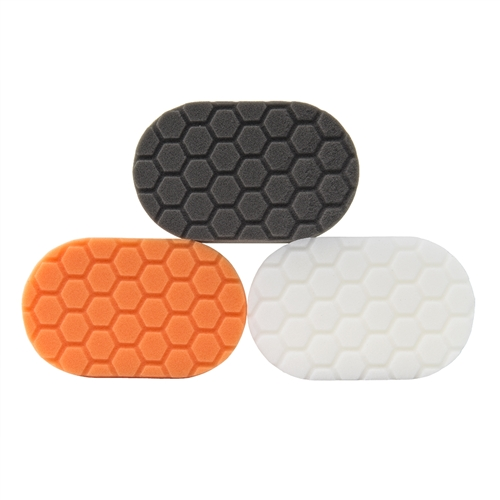 Chemical Guys BUFX_204 Hex-logic Hand Applicator Pad Kit