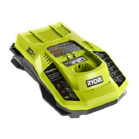 Ryobi 18v 18 volt dual chemistry Lithium Ion NiCad ONE+ battery charger P117 New (Ryobi Lithium Battery 18v Charger)