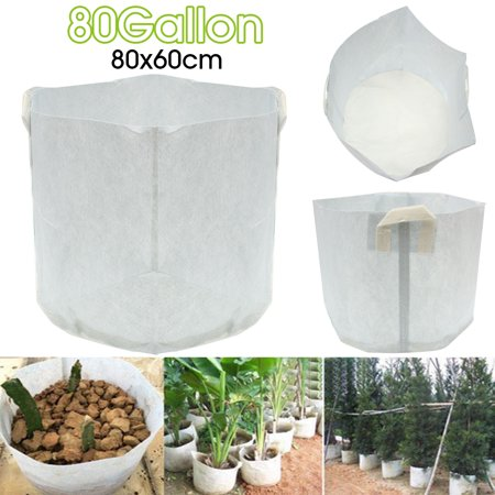 5/50 Pcs Fabric Grow Bags Smart Pots Container 80 Gallon Smart Pots Bag Case Container Garden