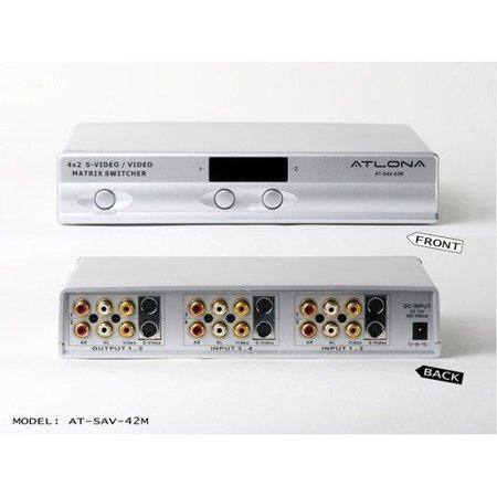 Atlona Professional Composite Video/S-Video and Analog Audio Matrix -