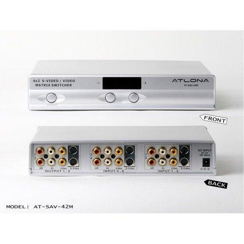 Atlona Professional Composite Video/S-Video and Analog Audio Matrix Switcher