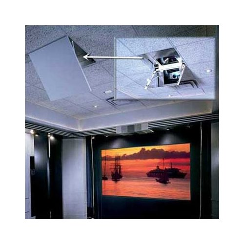Draper The Revelation Motorized Ceiling-Recessed Projector Mount
