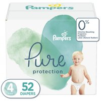 Pampers Pure Protection Diapers Size 4 52 Count