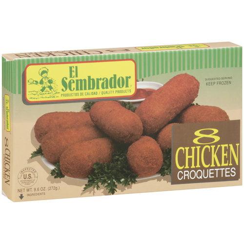 El Sembrador Chicken Croquettes, 8 ct.