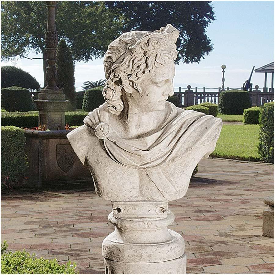 Apollo Belvedere Sculptural Bust by Design Toscano