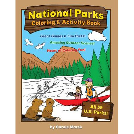 America's National Parks Coloring and Activity Book - Heritage Park Halloween Activities