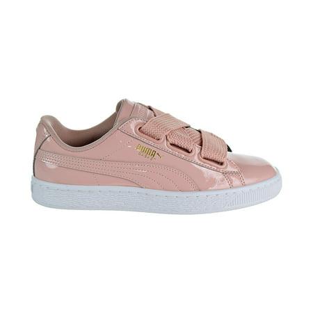 6ab7dd84208 PUMA - puma 363073-11: women's basket heart patent peach beige sneaker (8  b(m) us) - Walmart.com