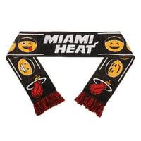 Miami Heat Teamoji Acrylic Scarf - No Size