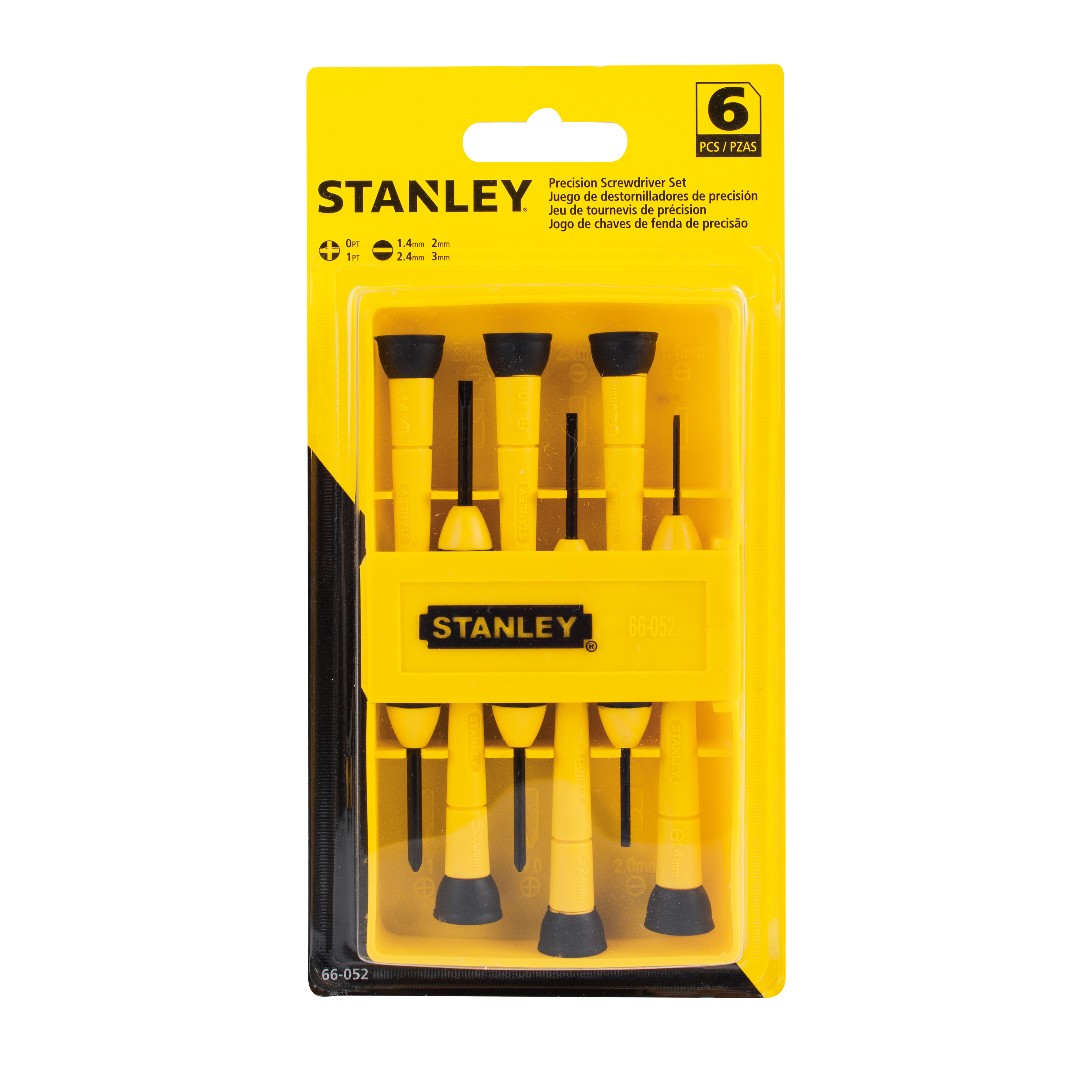 STANLEY® 66-052 6-Piece Precision Screwdriver Set