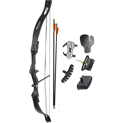Crosman Archery Elkhorn Compound Bow Package (Right-Hand Use Only) by Crosman