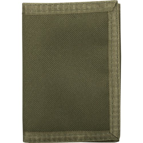 Faded Glory Olive Nylon Trifold