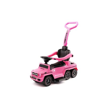 Mercedes Sl500 Convertible - MERCEDES G63 AMG 6X6 CHILDREN ELECTRIC RIDE ON CONVERTIBLE PUSH AND FOOT TO FLOOR CAR | PINK