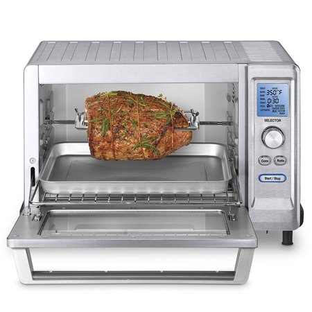cuisinart tob-200 rotisserie convection toaster oven, stainless
