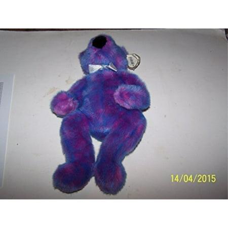 Ty Beanie Classic Purplebeary The Bear 12