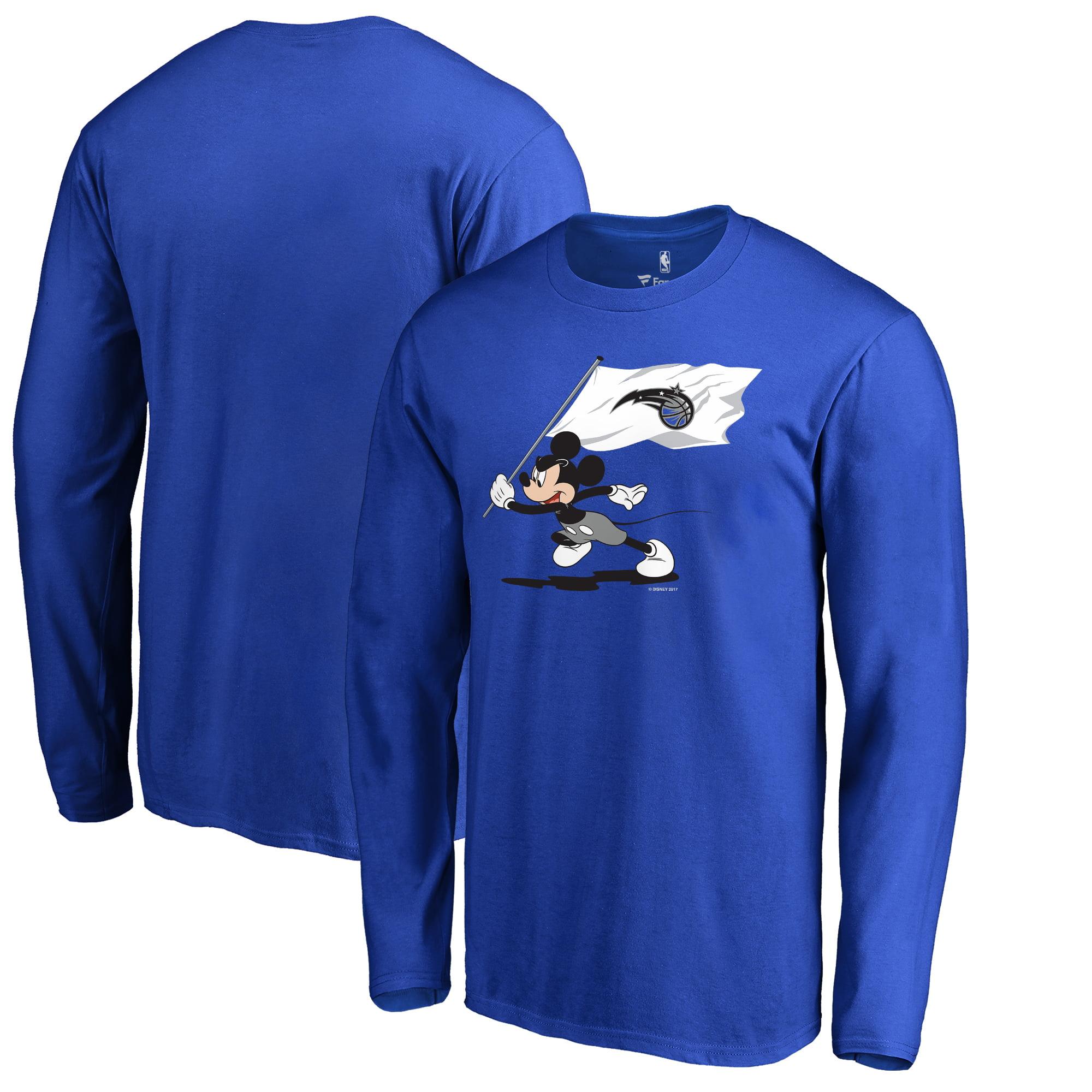 Orlando Magic Fanatics Branded Disney Fly Your Flag Long Sleeve T-Shirt - Blue