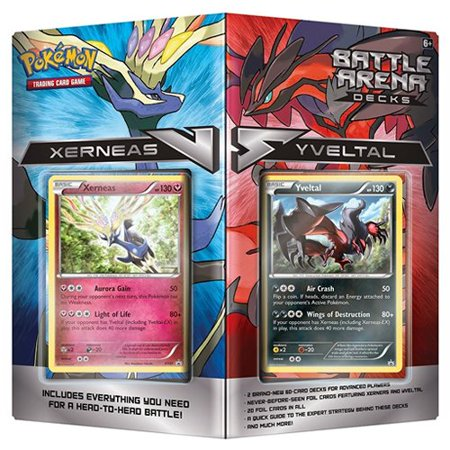 TCG Battle Arena Decks: Xerneas vs Yveltal Card Set20 foil cards in all By Pokmon