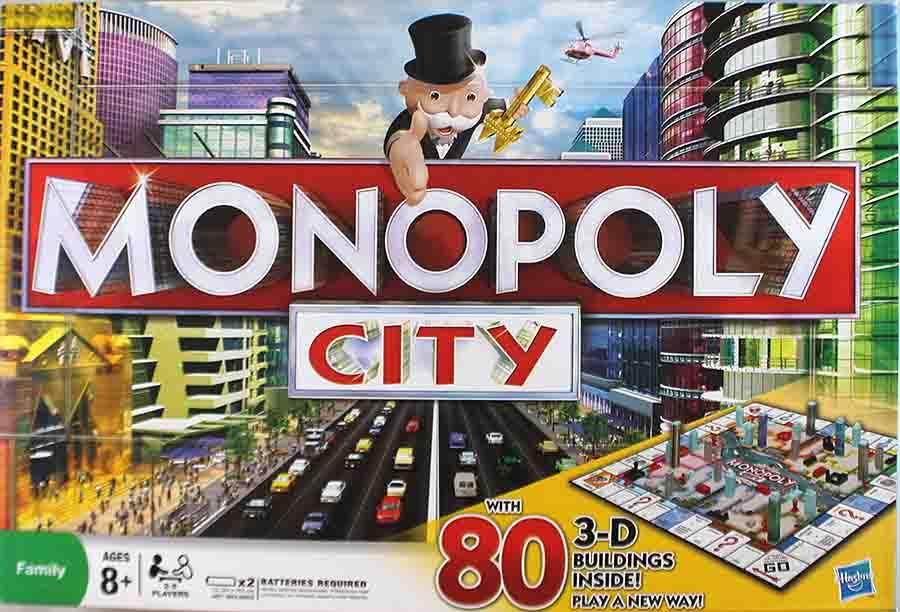 Monopoly City by Hasbro