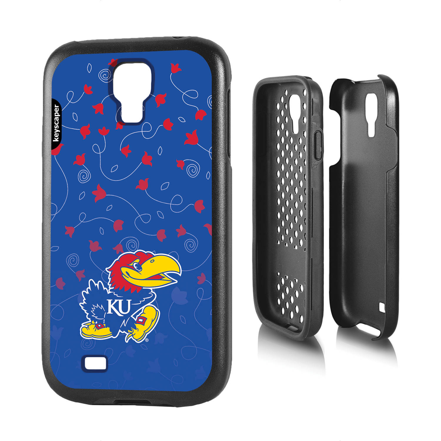 Kansas Jayhawks Galaxy S4 Rugged Case