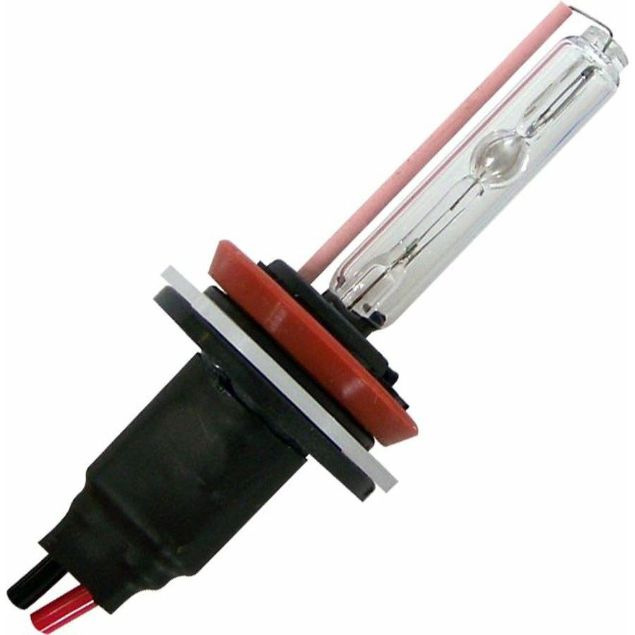 2 Ion HID 4,300 Color Temp H9 Single Stage Bulbs  W/ Plug N Play Wire Harness