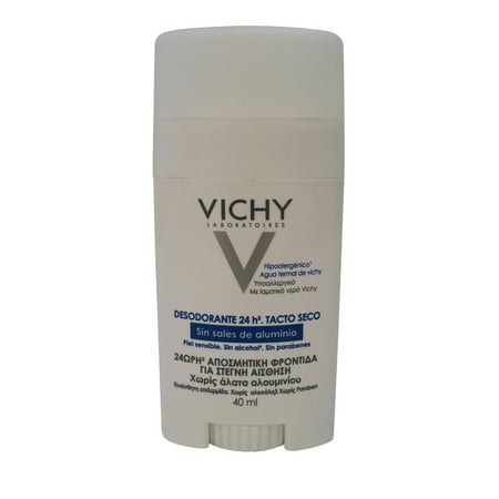 Vichy 24 Hour Deodorant Stick for Sensitive Skin 40 ml