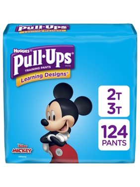 Pull-Ups Boys Learning Designs Training Pants, Size 2T-3T(Choose Count)